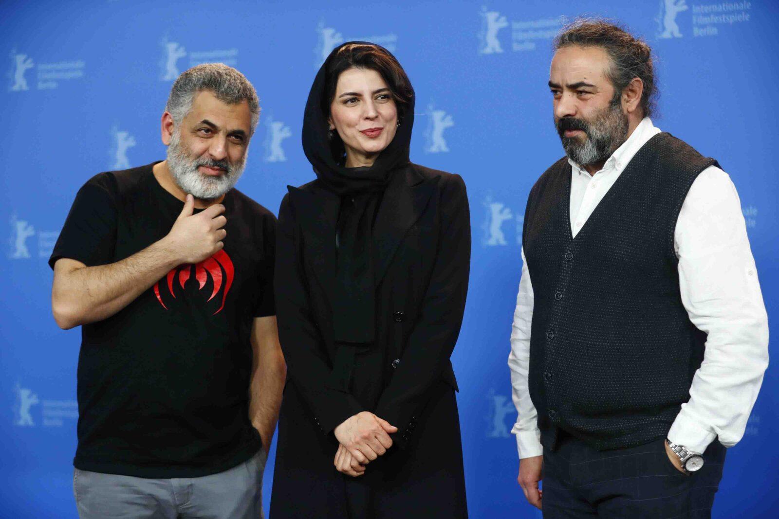 حسن معجونی، لیلا حاتمی و مانی حقیقی در جشنواره فیلم برلین