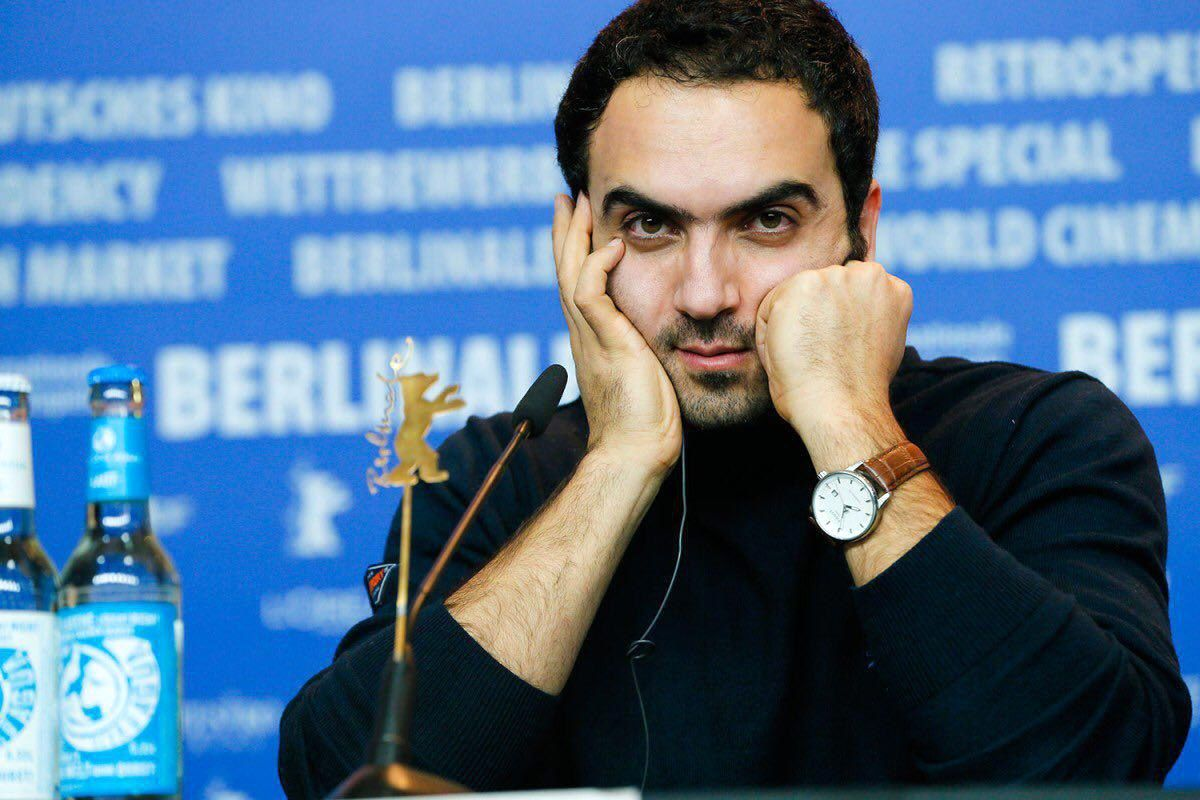 همایون غنیزاده کارگردان فیلم مسخره باز در جشنواره برلین